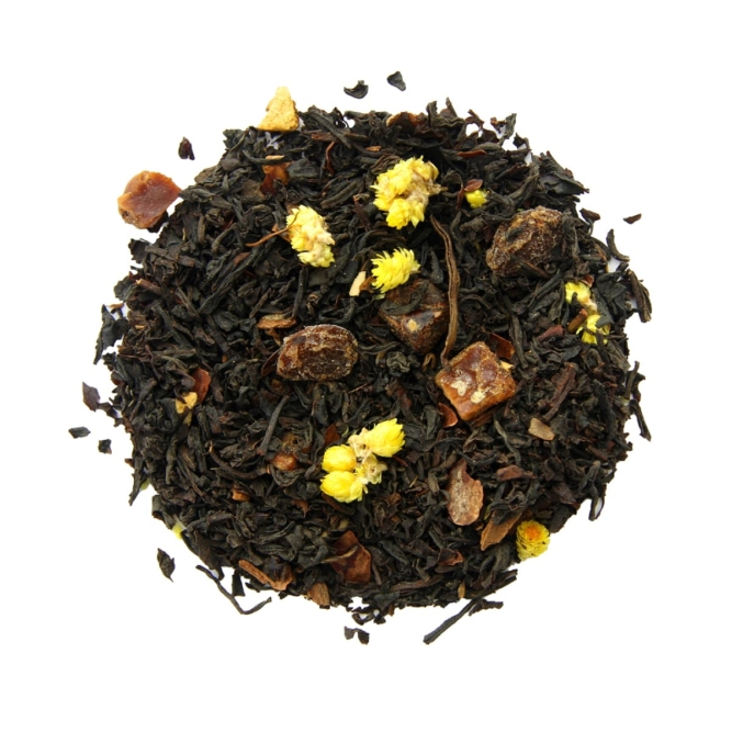 thé noir bio au citron Soleil de Méditerranée