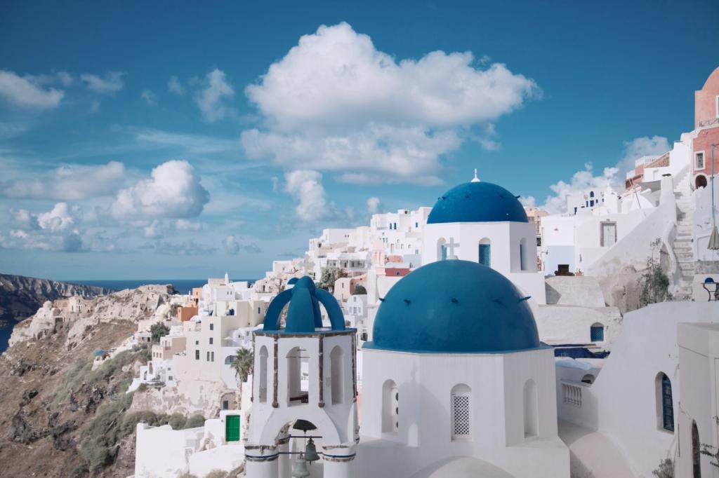 Santorin - Vent des Cyclades
