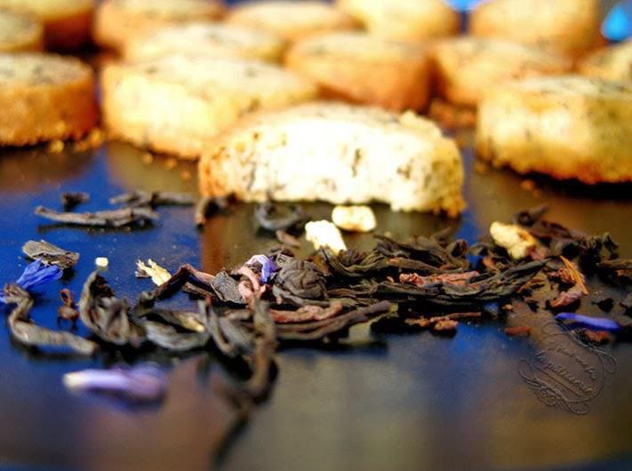 Les sablés au thé Earl Grey noir – La recette de Paul
