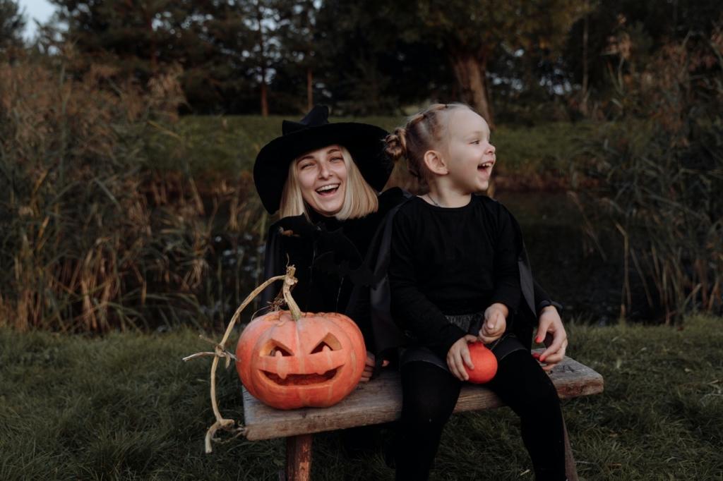 Déguisement de sorcière Halloween fait maison