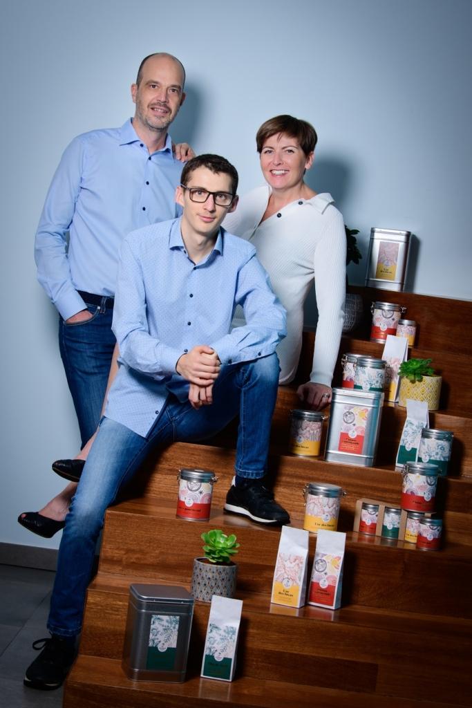 Paul Anne et Bernhard - Passport Tea