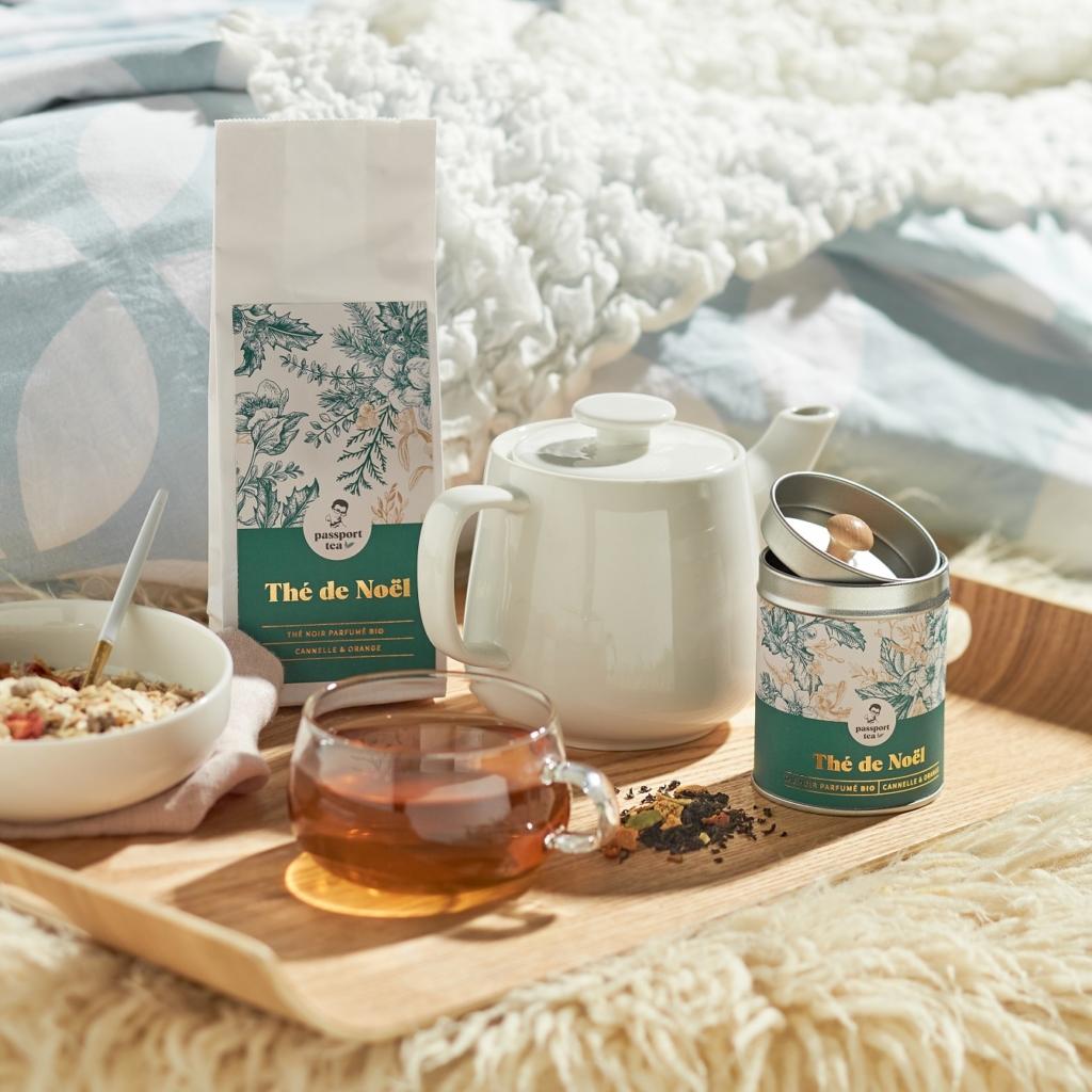 thé de Noël - offrir du thé à Noël