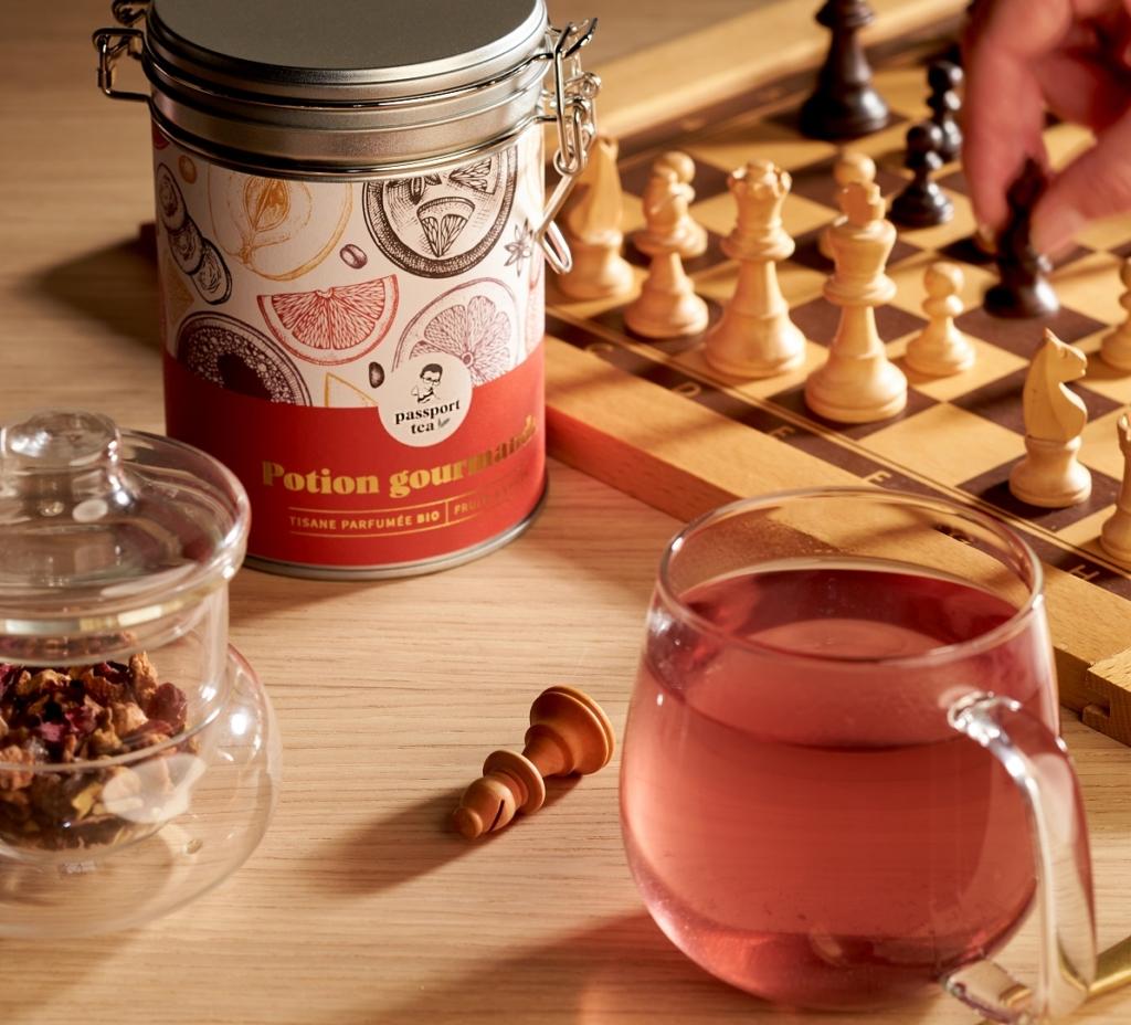 résolutions 2021 - convivialité autour d'une tasse de thé