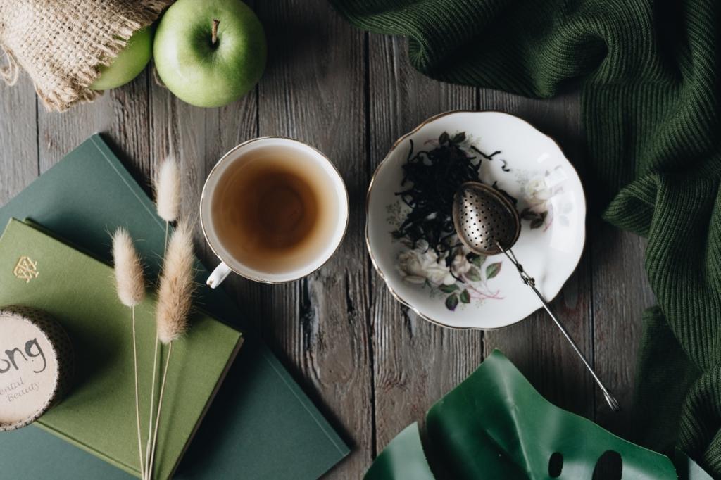 thé vert thé noir thé blanc - infusion de thé noir